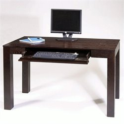 Avenue Six Plaza Wood Laptop Desk in Espresso