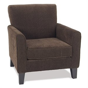 Club Chair in Brown