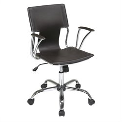 Avenue Six Dorado Office Chair in Espresso