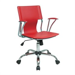 Avenue Six Dorado Office Chair in Red