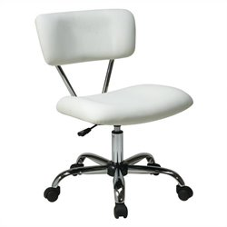 Task Office Chair in White