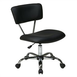 Avenue Six Vista Task Office Chair in Black