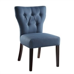 Avenue Six Andrew Dining Chair in Klein Azure