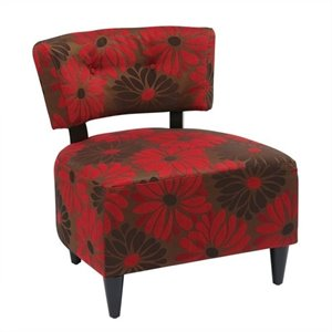 Chair in Groovy Red