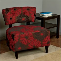 Avenue Six Boulevard Chair in Groovy Red
