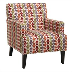 Avenue Six Carrington Arm Chair in Flair Confetti