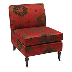 Avenue Six Madrid Chair in Groovy Red