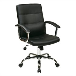 Avenue Six Malta Office Chair in Black