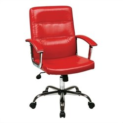 Office Chair in Red