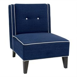 Avenue Six Marina Chair in Woven Indigo