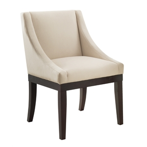 Dining Chair in Oyster Velvet