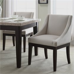 Avenue Six Monarch Chair in Oyster Velvet