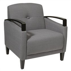 Avenue Six Main Street Arm Chair in Gray