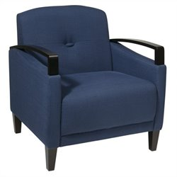 Avenue Six Main Street Chair in Woven Indigo
