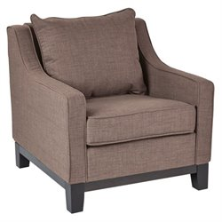 Accent Chair in Grey Brown