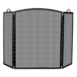 Uniflame Medium 3 Panel Olde World Iron Arch Top Screen