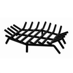 24 Inch Hex Shape Bar Grate for Outdoor Fireplaces
