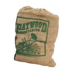Uniflame 8 Pounds Fatwood In Burlap Sack