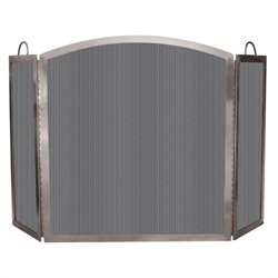 Uniflame 3 Fold Stainless Steel Screen with Handles