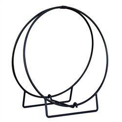 Uniflame Black 36 Inch Diameter Log Hoop