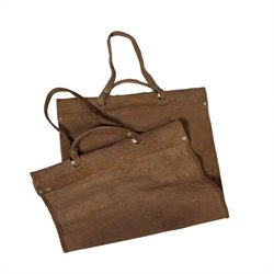 Replacement Brown Suede Leather Carrier
