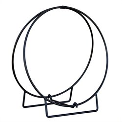Uniflame Black 24 Inch Diameter Log Hoop