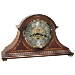 Howard Miller Webster Key Wound Mantel Clock