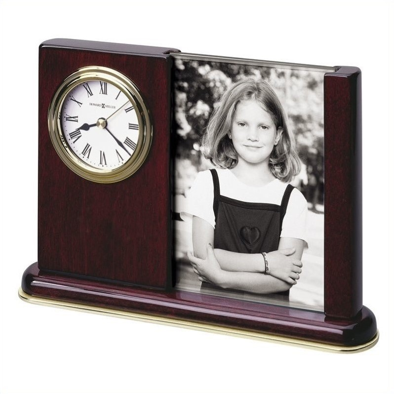 Howard Miller Portrait Caddy Table Top Clock