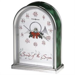 Howard Miller Sounds of the Season Musical Table Top Clock