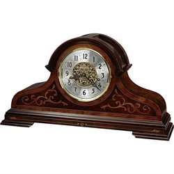 Howard Miller Bradley Limited Edition Mantel Clock in Windsor Cherry