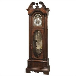 Howard Miller Coolidge Floor Clock In Hampton Cherry Finish