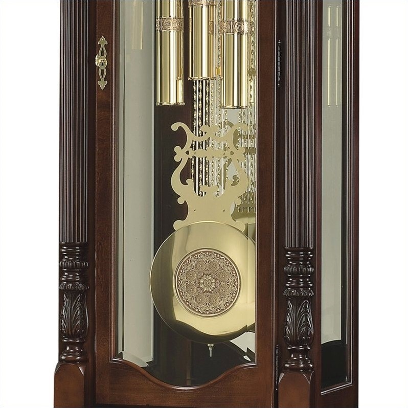 Howard Miller Winterhalder II Floor Clock In Windsor Cherry Finish