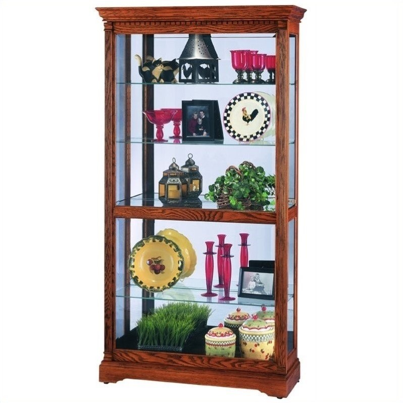 Howard Miller Donegal Traditional Display Curio Cabinet