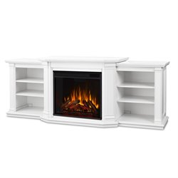 Real Flame Velmont Electric Fireplace Entertainment Unit in White