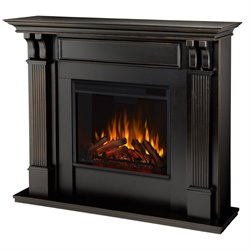 Real Flame Ashley Electric Fireplace in Blackwash Finish