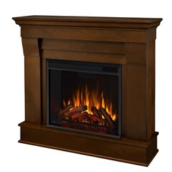 Real Flame Chateau Electric Fireplace in Espresso Finish