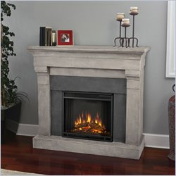 Real Flame Torrence Electric Cast Fireplace