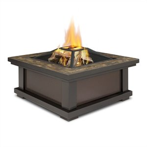 Real Flame Alderwood Fire Pit