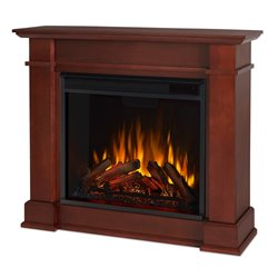 Real Flame Devin Indoor Electric Fireplace in Dark Espresso