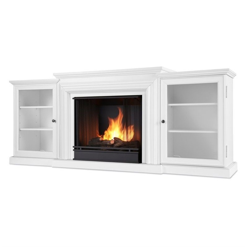 real flame frederick gel fuel fireplace in white 7740 w. Black Bedroom Furniture Sets. Home Design Ideas