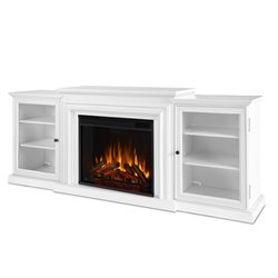 Real Flame Frederick Electric Fireplace in White