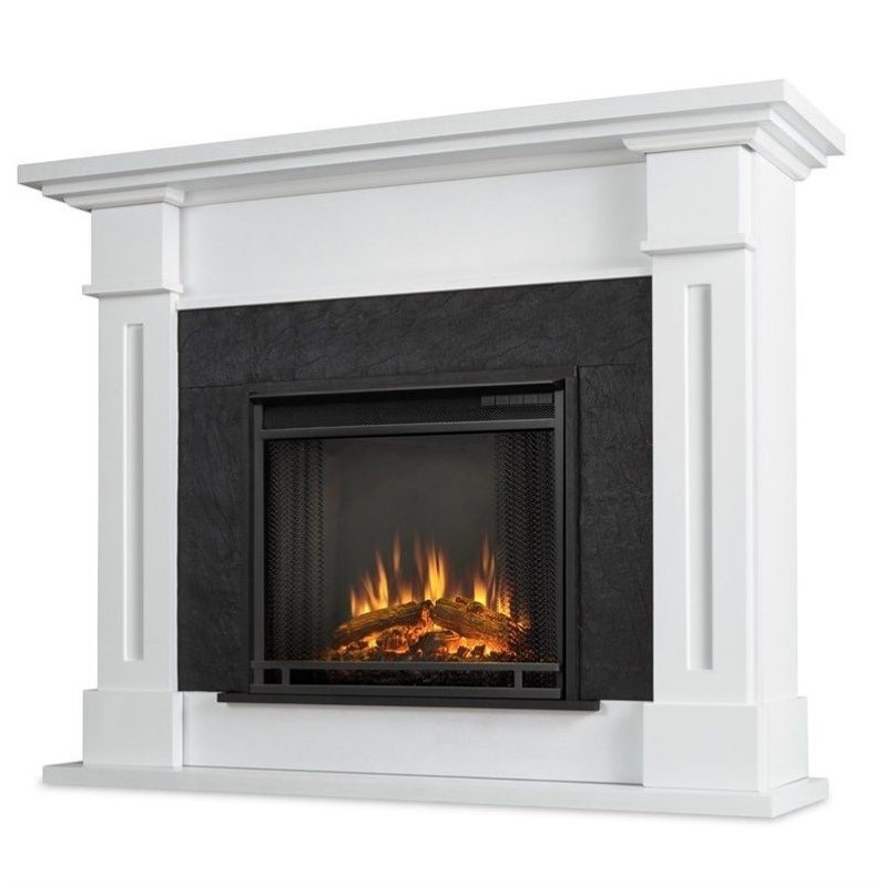 Real Flame Kipling Electric Fireplace White 6030e W
