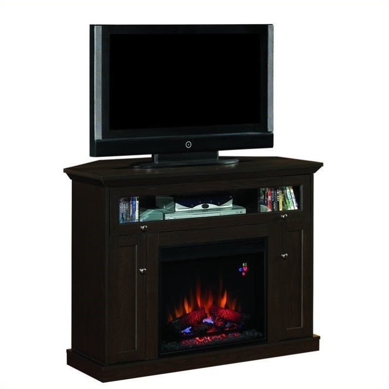 Classic Flame Windsor Fireplace in Oak Espresso