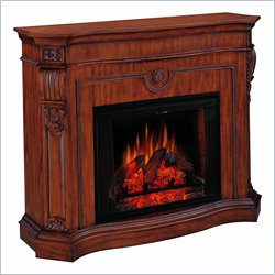 Classic Flame Florence Cherry Free Standing Electric Fireplace