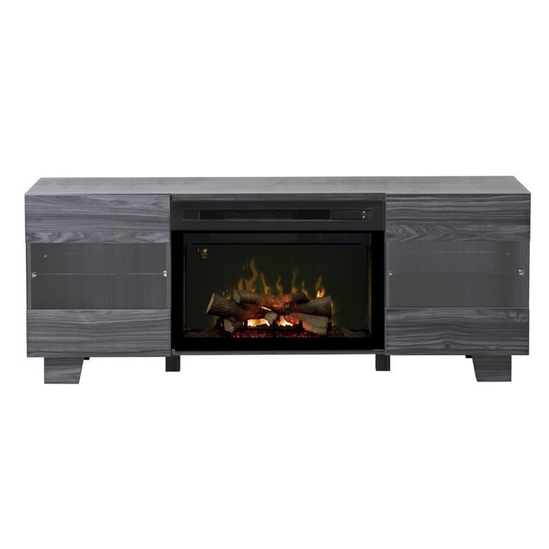 Dimplex Max Fireplace Tv Stand In Carbonized Walnut Gds25ld 1651cw