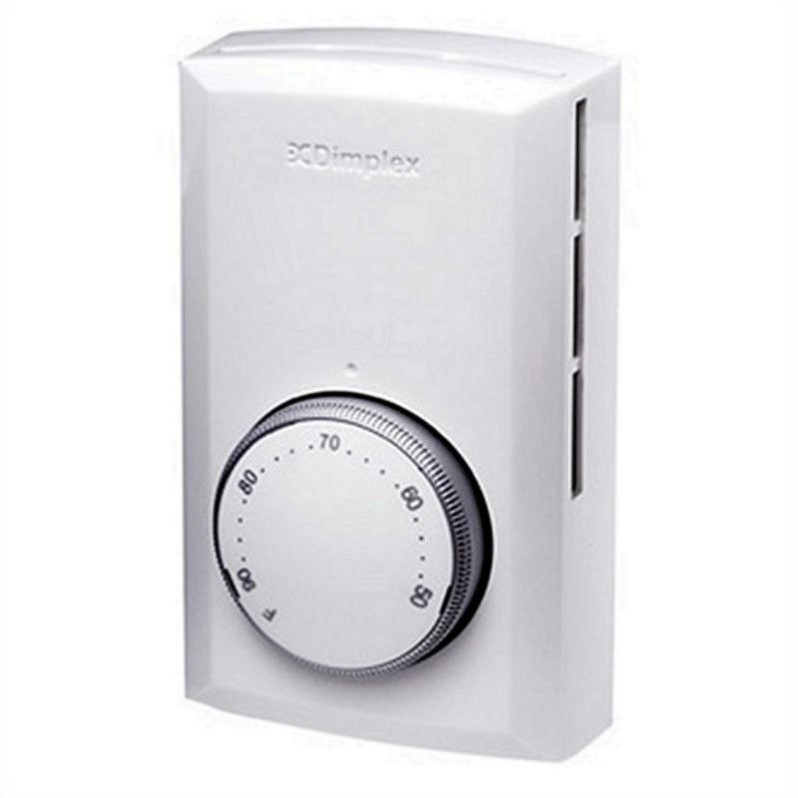Dimplex Electraflame White Wall Thermostat