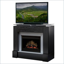 Dimplex Jasper Electric Fireplace Media Console in Black