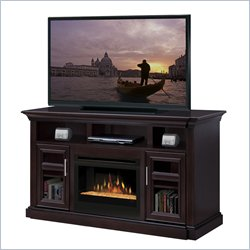 Dimplex Bailey Electric Fireplace Entertainment Center in Espresso