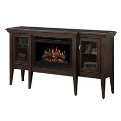 Dimplex Upton Electric Log Fireplace in Espresso