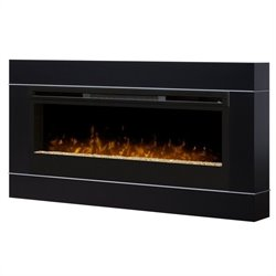 Dimplex Cohesion Wall Mount Firebox Frame in Black